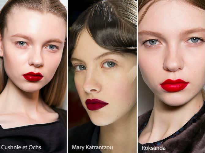 Тенденции макияжа осень зима 2016 2017