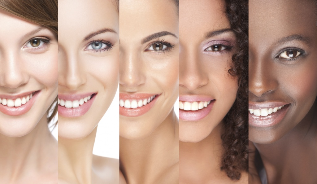 Разные типы кожи